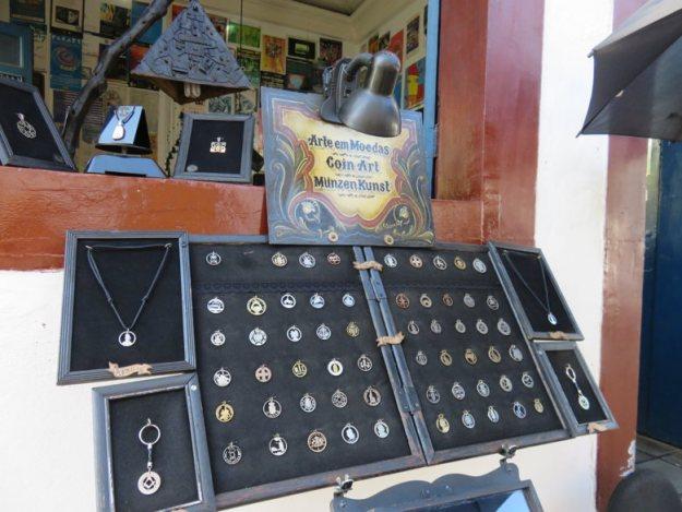 moedas centro histórico de paraty