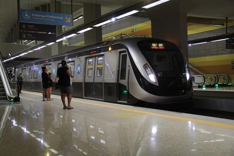 transportes no rio de janeiro metrô