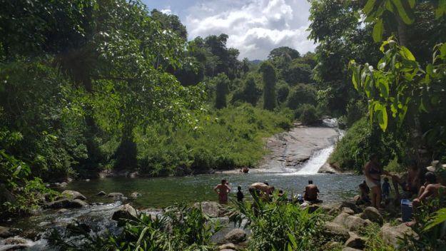 cachoeira da graúna cachoeiras em paraty