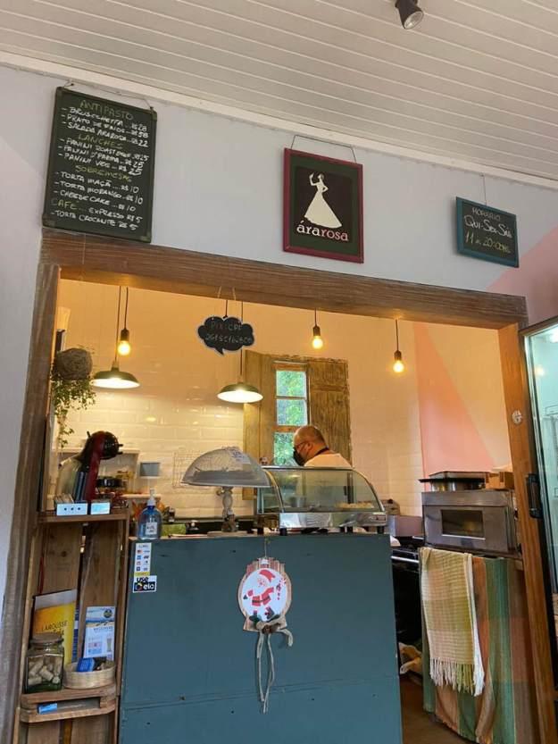 cafe ararosa restaurantes em gonçalves