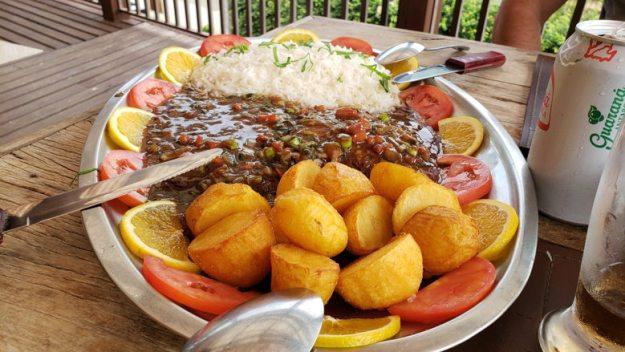 carne batata casarao restaurantes em gonçalves
