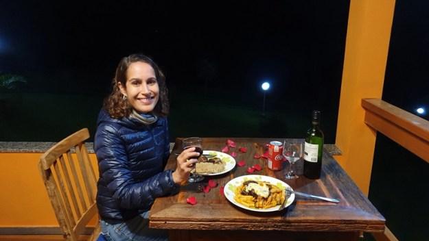mulher jantar restaurantes em gonçalves