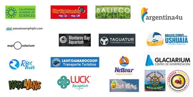 lista de agências de turismo