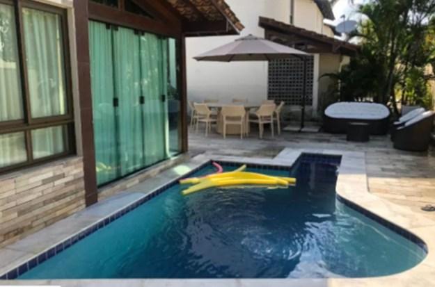 piscina casas para temporada em porto de galinhas