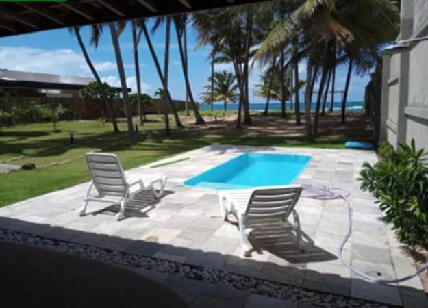 piscina coqueiros casas para temporada em porto de galinhas