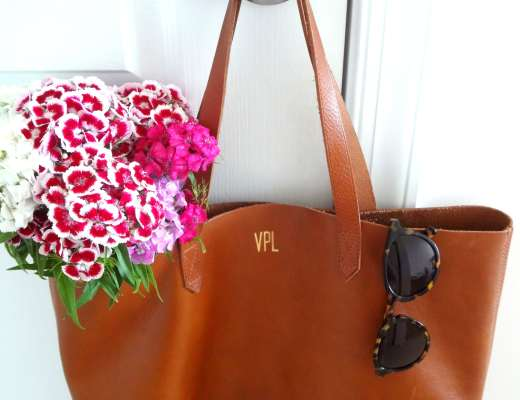 Madewell Transport Tote Close