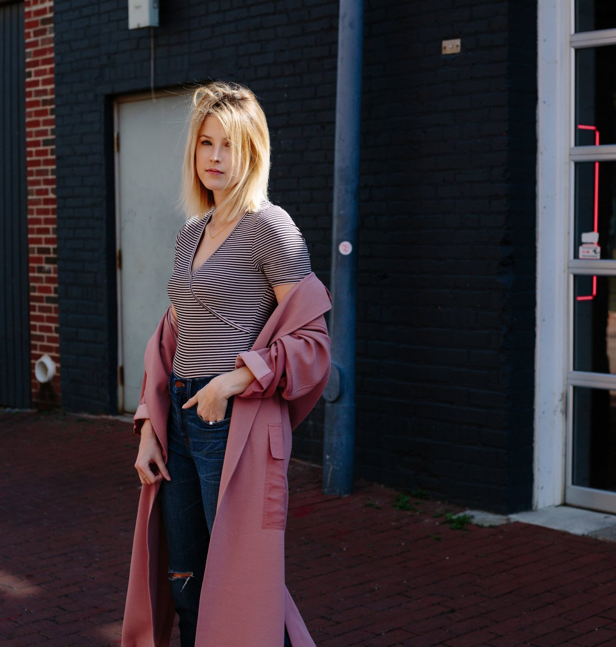 How To Wear A Duster Coat - www.viciloves.com - @viciloves1