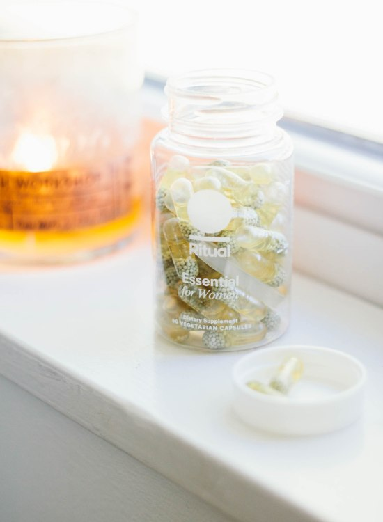 Ritual Vitamins Review featured by top US life and style blogger, VICILOVES