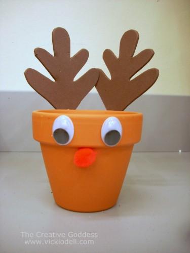Kids Craft – Reindeer Treat Holder