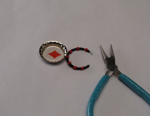 Easy to Make Playing Card Drink Charms