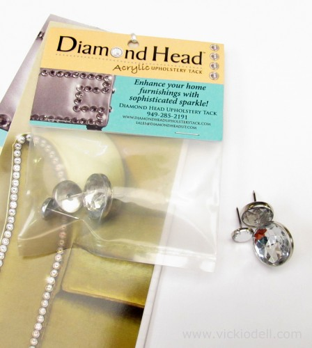 Diamond Head Acrylic Upholstry Tack