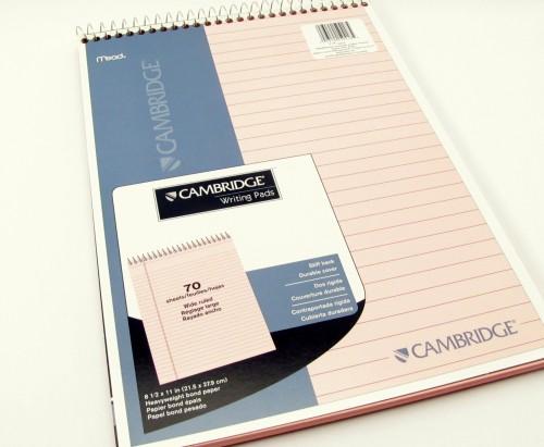 Mead, legal writing pad, Cmbridge
