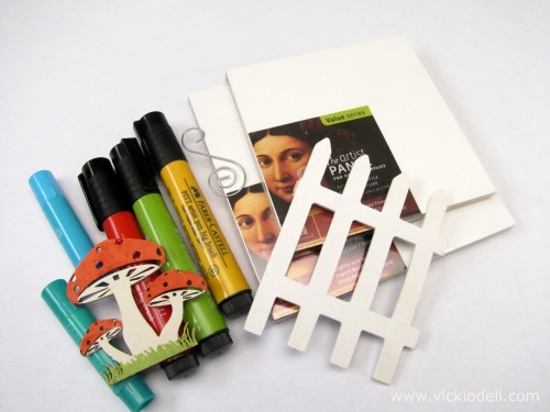 Faber Castell Gelatos, Mix & Match, Ampersand Art Panels