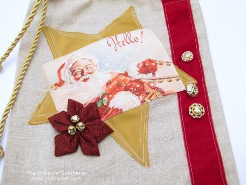 Christmas Crafts: Fabric Gift Bag