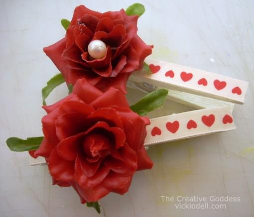 Valentine's Day Clothes Pins