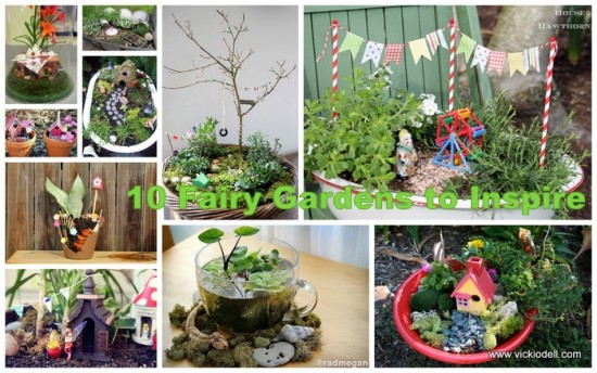 10 Fairy Gardens to Inspire