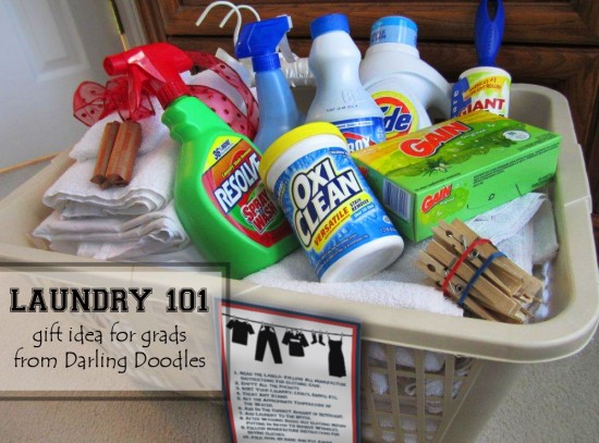 Laundry 101 Gift Basket