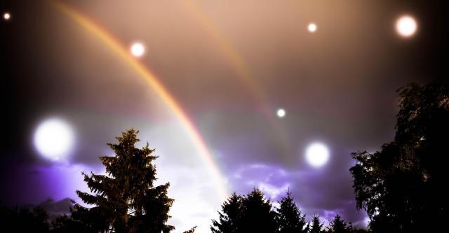 2 Rainbows, dreamy