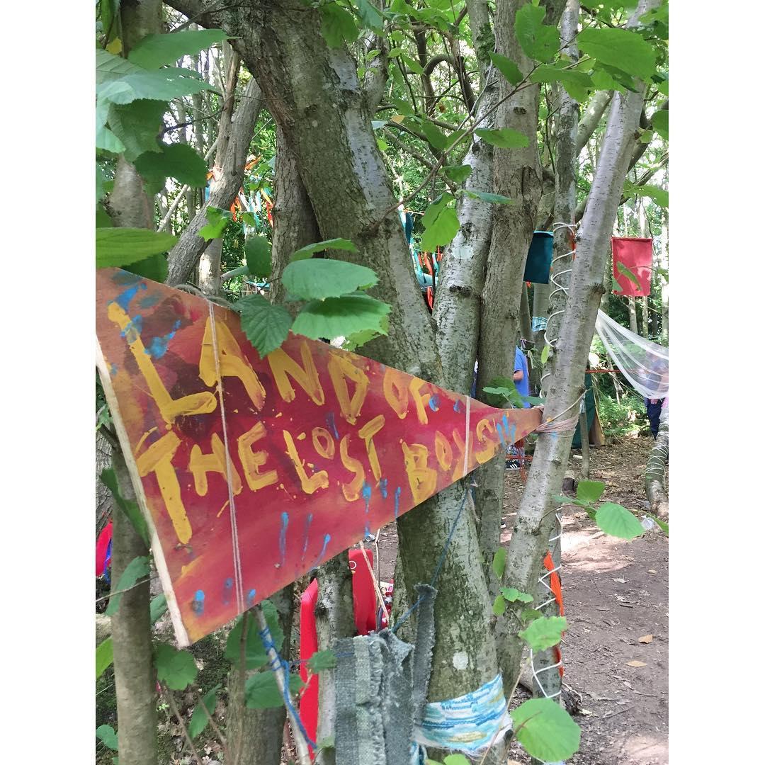 Anyone seen any boys?    neverland leefest festivalhellip