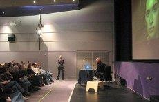 Peter Greenaway at Lovebytes 05f