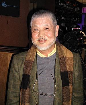 Yasunao Tone, performer at lovebytes festival 2002