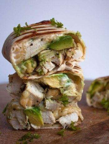 Vicky van Dijk | Burritos met kip en avocado