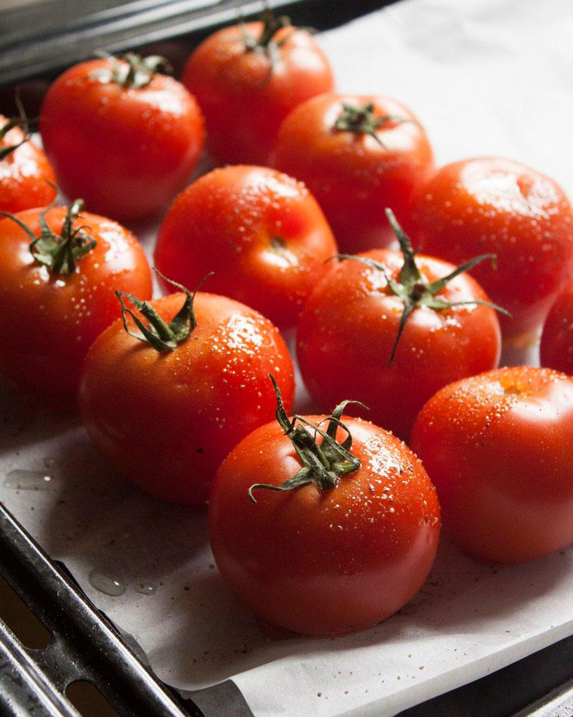 Vicky van Dijk | Geroosterde tomatensoep met mozzarella