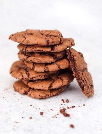 Zachte chocoladekoekjes