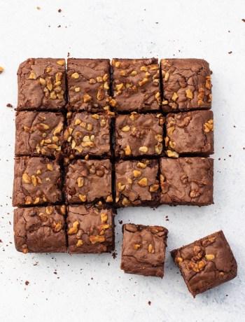 Brownie met walnoten