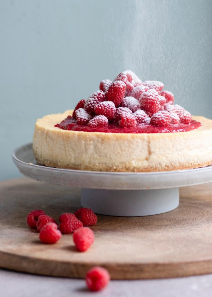 Cheesecake met frambozencoulis02