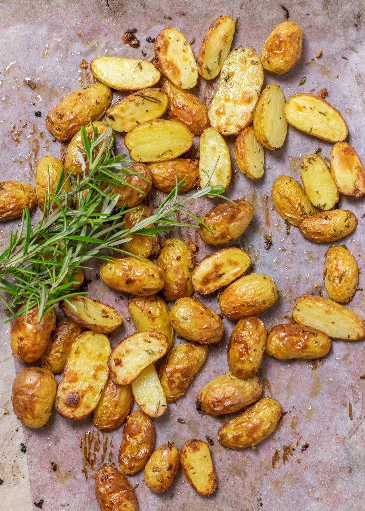 Krieltjes uit de oven met verse rozemarijn & knoflook