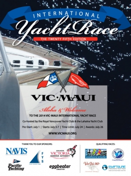 Vic Maui Yacht Race Artwork