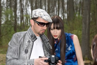 Photo shooting Katka for Japan with Milan M. Deutsch