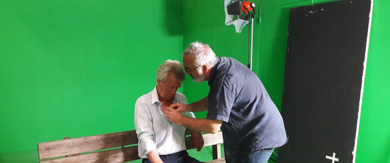 Studio de tournage fond vert Vicprod