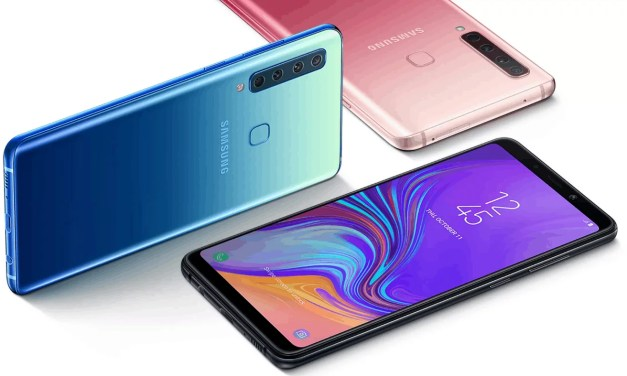 Samsung Galaxy A9 World's First Rear Quad Camera to be launched & Sale on Nov'20 in India