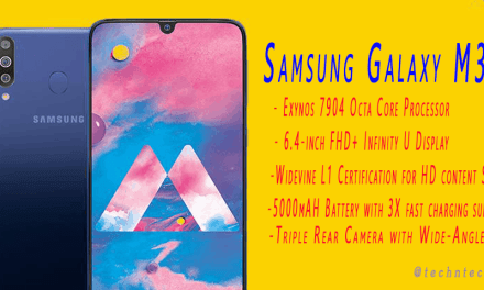 Samsung Galaxy M30 Specification, Features & Overview