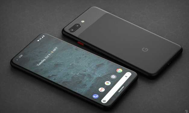 Google Pixel 4 renders concept shows Punch hole display