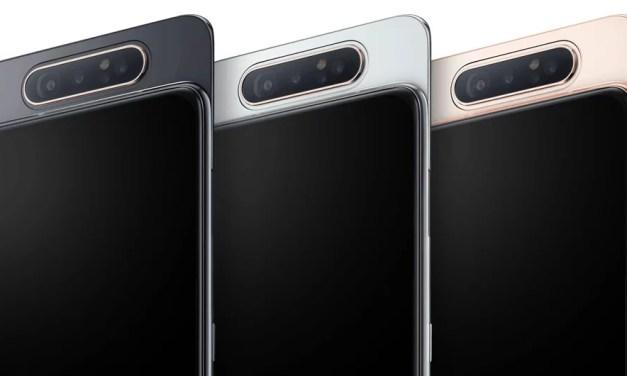 Samsung New Innovative Galaxy Smartphone with Rotating Camera