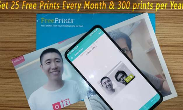 Get Free Photo Print using Free Print application for both iOS & Android