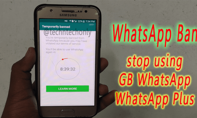 WhatsApp Ban user accounts because of using modded WhatsApp Application