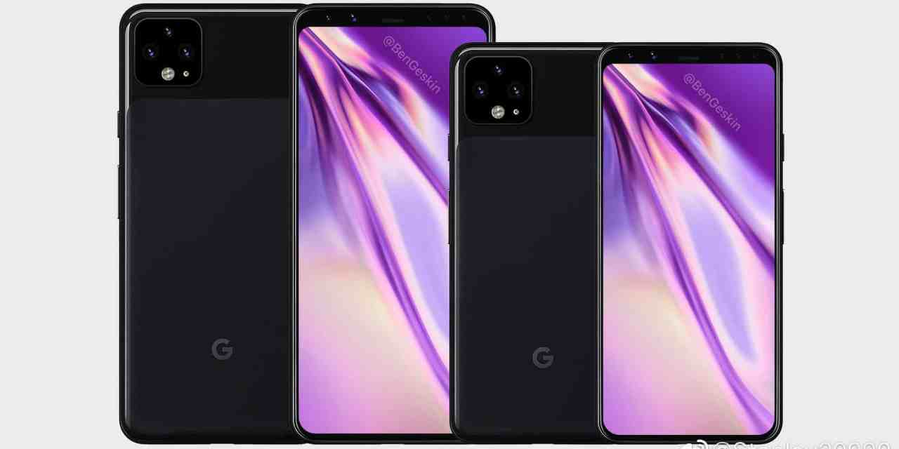 Exclusive: Google Pixel 4 First look images like iPhone camera design