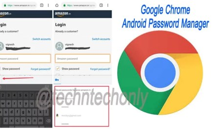 Google Chrome Password Manager Feature enabled for Android: Generate, Save & Manage Passwords