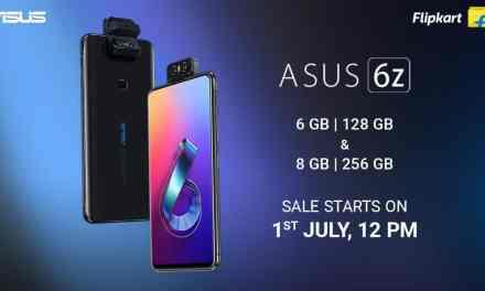 ASUS 6z 6GB+ 128GB & 8GB + 256GB storage variant: Price, Sale