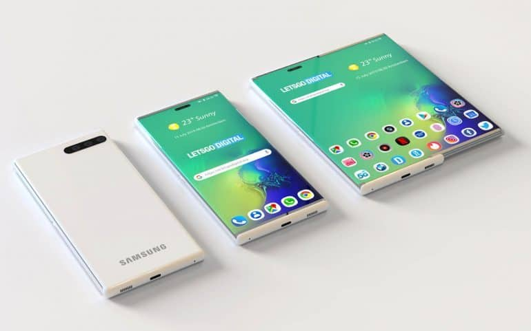Samsung rolling screen new patent solves 2 in 1 problem: Mobile & Tablet