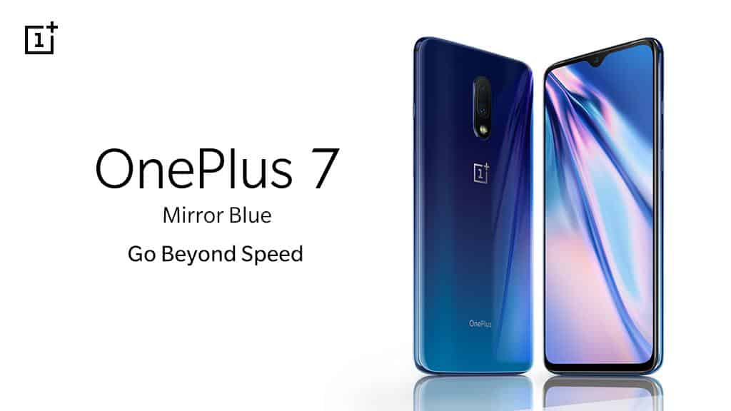 OnePlus 7 Mirror Blue color variant introduced: Price, Sale date