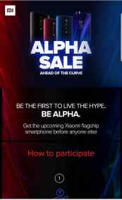 Redmi K20 Pro Alpha Sale