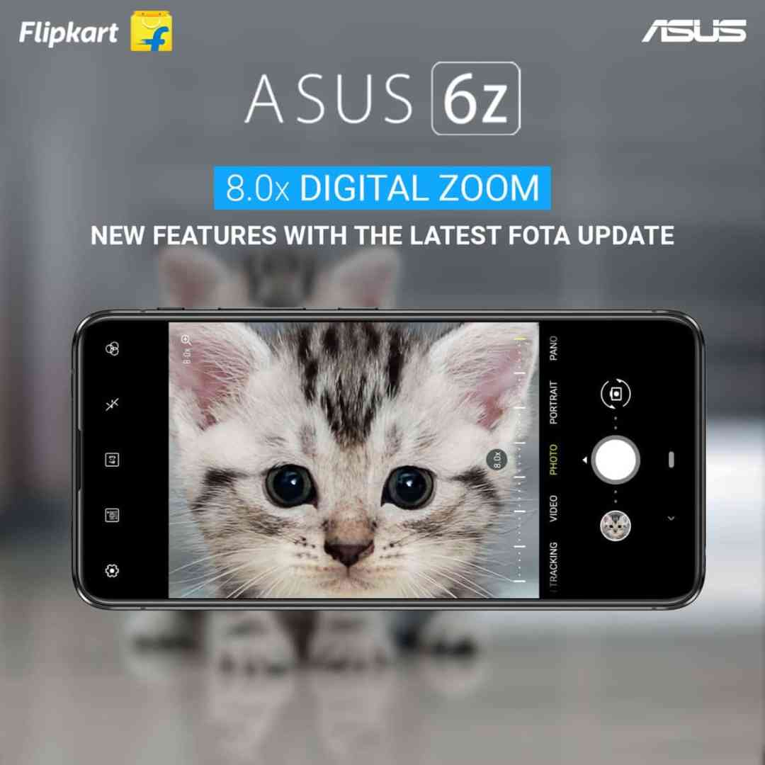 ASUS 6Z new update