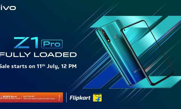 VIVO Z1 Pro India Price starting from Rs. 14, 990: Full Specs, Price & Sale