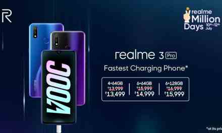 Realme 3 Pro price drop for all storage variants: Price, Sale date