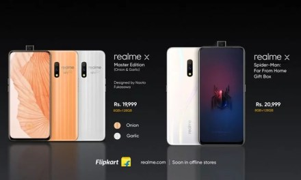Realme X (Launched) India price starting from Rs. 16,999: Full Specs, Price & Sale date